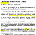 Chaldeans in the Nimrud Letters 745 BC.PNG